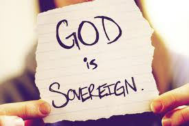 God is sovereign. Repeat that to yourself :)