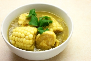 Oh. And how could I forget to mention Trinidadian corn soup?
