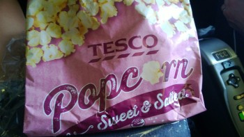 Bagged Popcorn. The ultimate snacker jacker's dream.