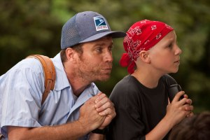 Tyler, the kid with cancer, and the mailman whose life he helped change.