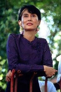 Aung San Suu Kyi is gorgeous