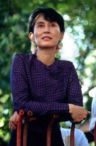 Aung San Suu Kyi is gorgeous