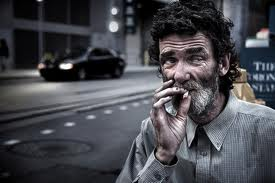 Homeless people love drugs